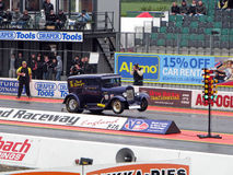 Pro ET auto Dragster stock afbeelding