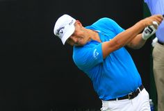 Pro European golfer Fredrik Jacobson Stock Photo