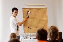 Pro--föreläsning av Li Cong Royaltyfria Foton