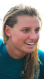 Pro Female Surfer,Lakey Peterson Leadbetter Classic Stock Images