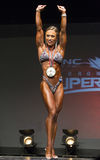 Pro Figure Medal Winner Stock Photography