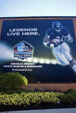 Pro Football Hall of Fame Royalty Free Stock Images