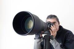 Pro fotógrafo Foto de Stock