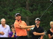 Pro giocatore di golf Graeme McDowell dell'Irlanda del Nord Fotografie Stock