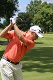 Pro giocatore di golf Russell Knox della Scozia Fotografia Stock Libera da Diritti