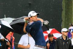 Pro-golfare Adam Scott royaltyfria foton