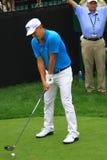 Pro-golfare Fredrik Jacobson Royaltyfria Bilder