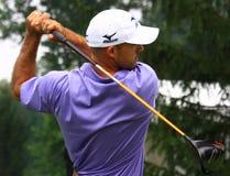 Pro-golfare Jonathan Byrd Fotografering för Bildbyråer