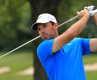 Pro golfer Charl Schwartzel of South Africa Stock Image