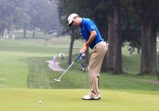 Pro Golfer Martin Laird of Scotland Stock Image