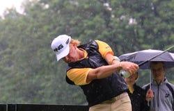 Pro golfer Miguel Angel Jimenez Royalty Free Stock Photo
