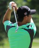 Pro golfer Padraig Harrington leading off Royalty Free Stock Photography