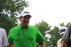 Pro golfer Phil Mickelson Stock Photo