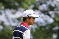 Pro Golfer Young-han Song. Pro player Song Young-Han of South Korea, WGC - Bridgestone Invitational, World Golf Championship, Firestone Country Club, Akron, Ohio stock photos