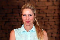Pro golfeur de dames Daniella Montgomery November 2015 dans Afr du sud Photos stock