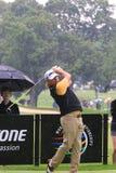 Pro golfeur Miguel Angel Jimenez de l'Espagne Photos libres de droits