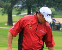 Pro golfista Lee Westwood Zdjęcie Stock