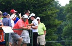 Pro golfowy Rory McIlroy obrazy stock
