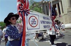 Pro-Gun Activists Stock Photography