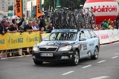 Pro het cirkelen voertuig Stock Foto's