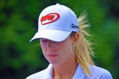 Pro het Kampioenschap van PGA van de Vrouwen van Golfspelerpaula creamer 2016 KPMG bij Sahalee-de Club van het Land Stock Foto's