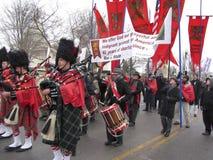 Pro het Marcheren van het Leven Band Royalty-vrije Stock Fotografie