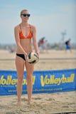 2013 Pro het Strandvolleyball van vrouwen Stock Foto's