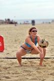 2013 Pro het Strandvolleyball van vrouwen Royalty-vrije Stock Afbeelding