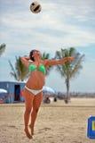 2013 Pro het Strandvolleyball van vrouwen Stock Foto