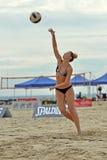 2013 Pro het Strandvolleyball van vrouwen Royalty-vrije Stock Foto's