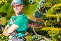 Pro jardineiro Portrait Foto de Stock Royalty Free