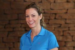 Pro jogador de golfe Emma Cambrera-Bello November 2015 das senhoras em Afr sul Fotografia de Stock Royalty Free