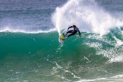 Pro Jordy surfingowiec ostro protestować Rzeźbi obrazy stock