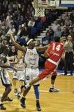 pro koszykówki dopasowanie obraz stock