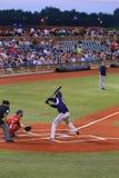 Pro lançador do basebol Fotografia de Stock
