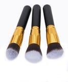 Pro Make-up Brushes Royalty Free Stock Photos