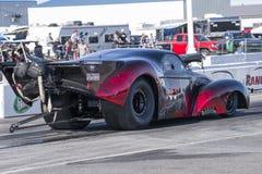 Pro mod on the track Stock Photo
