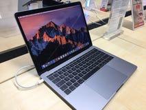 Pro ordinateur portable d'ordinateur de McBook Photo libre de droits