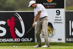 Pro palla di Garrido Drivng di golf Fotografie Stock Libere da Diritti