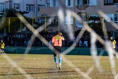 Pro partita di lega di football americano locale dei semi Immagine Stock Libera da Diritti