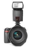 Pro photo camera Stock Photo