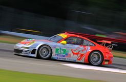 Pro Porsche Team racing Stock Photos