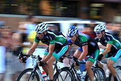 Pro raça de bicicleta Foto de Stock Royalty Free