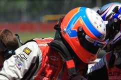 Pro racing driver Jordan Taylor Stock Photos