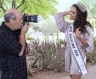 Pro rainha da beleza de fotografia de fotografia fotos de stock royalty free