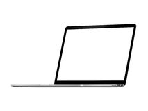 Pro Retina de Apple Macbook Imagens de Stock Royalty Free