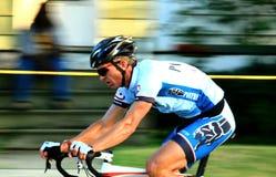 Pro roweru jeździec Zdjęcie Royalty Free