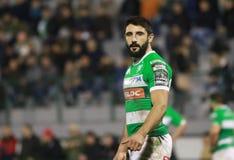 Pro 12 rugby de Guinnes - Benetton contre Cardiff Photos libres de droits