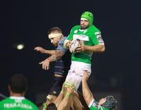 Pro 12 rugby di Guinnes - Benetton contro Cardiff Fotografia Stock Libera da Diritti