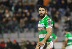 Pro-12 Rugby Guinnes - Benetton gegen Cardiff Lizenzfreie Stockfotos